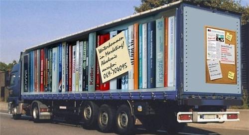 Bookshelf Truck