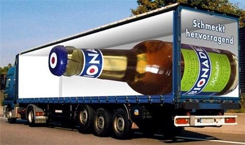 Beer Bottle Truck