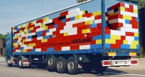 Legoland Truck