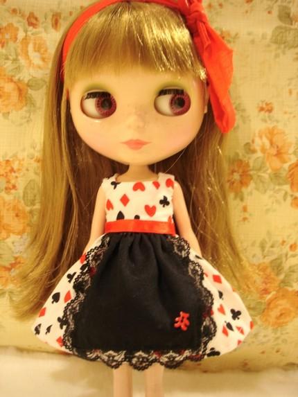 Poker Apron dress