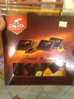 Cote d'Or - Finest Selections (fruit flavours such as Orange, Banana)