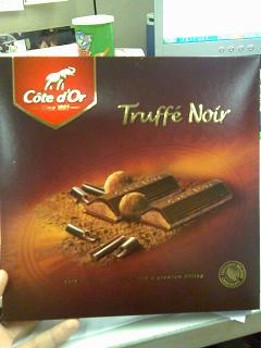 Cote d'Or Truffe Noir - Highly Recommended