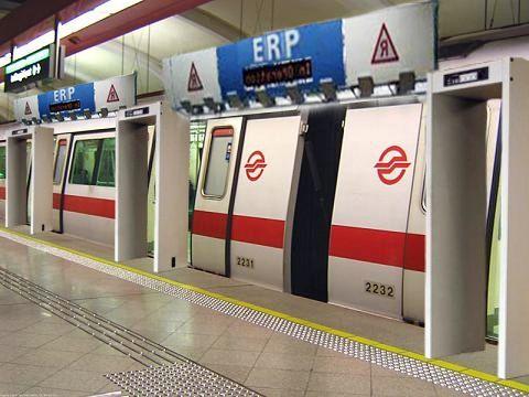 ERP On Train Platforms